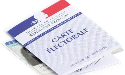Nouvelles cartes électorales avec indicateur de bureau de vote