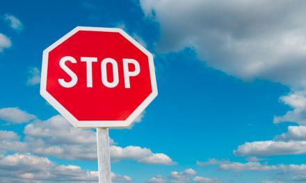 Nouveau panneau Stop