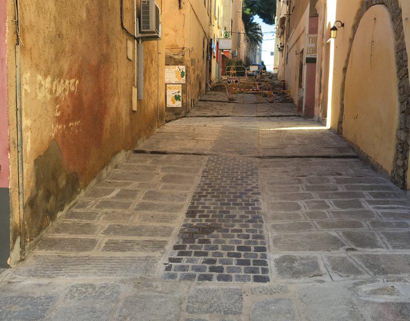 Travaux de rénovation des artères de la Cité Paoline