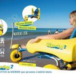 Baignade et accès pour personnes handicapées